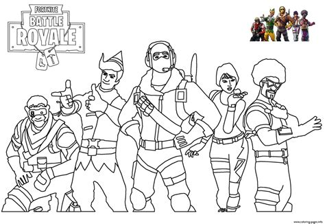 Coloring Skin by Skins Picture Fortnite Coloring Pages Printable
