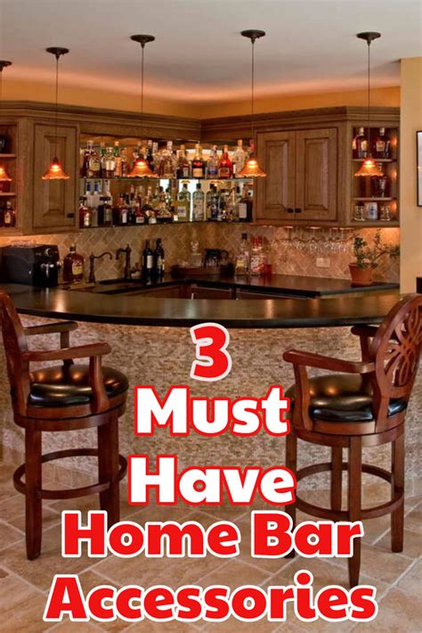 Home Bar Supplies by 3 Must Bar Accessories For A Diy Home Bar Best Home