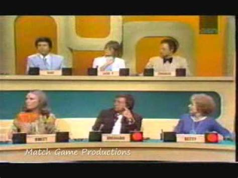 Match Game 73 Episode 11 (brett, Charles, And Betty's First Episode) Youtube