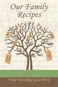 start your own reunion cookbook and create an heirloom or With cookbook covers template