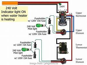 110v Thermostat Wiring Diagram Cleaver Hot Water Tank