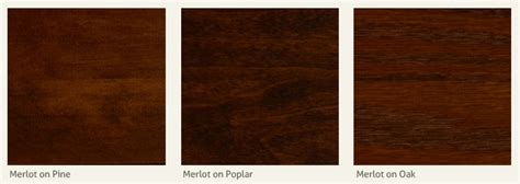 merlot wood stain  woodworking