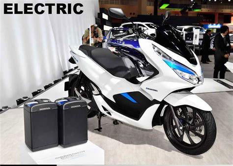 Gambar Motor Honda Pcx Electric by Gosip Honda Pcx Electric Ev Bakal Hadir Di Indonesia