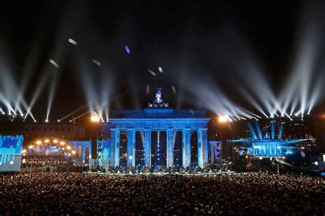 germany celebrates anniversary of berlin wall opening time
