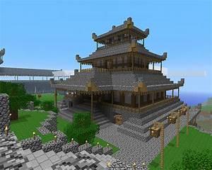 Plan Maison Japonaise : maison japonaise minecraft plan maison fran ois fabie ~ Melissatoandfro.com Idées de Décoration