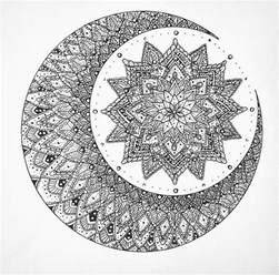 Sun Moon Mandala Tattoo