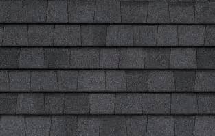 CertainTeed Moire Black Shingles Roof