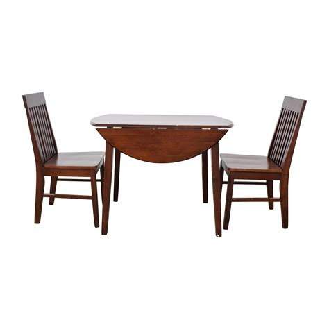macys kitchen table 61 macys macys wood dining set with extendable leaf