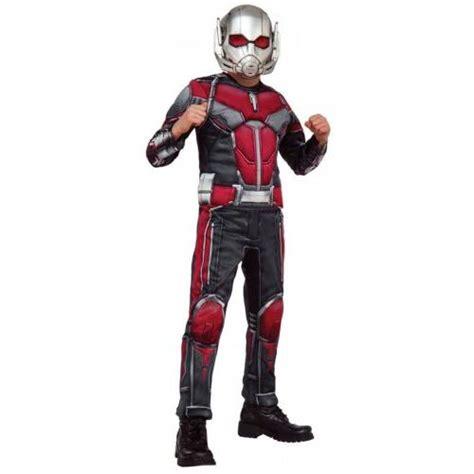 Ant Man Costume Kids Marvel Superhero Halloween Fancy Dress