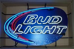 Bud Light Splash Neon Beer Bar Sign