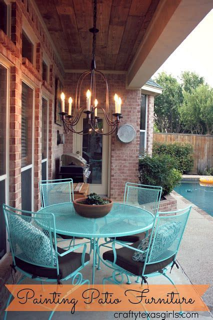 easy ideas for updating your patio furniture crafty