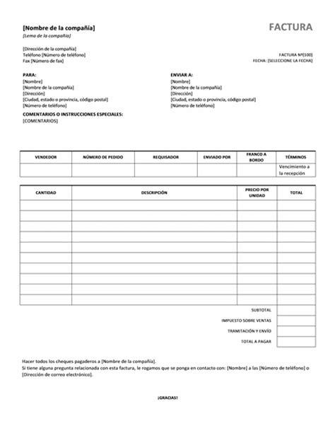 crear un templates con listas de audio factura de ventas