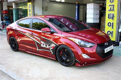 hyundai-elantra-red-black - Rides & Styling