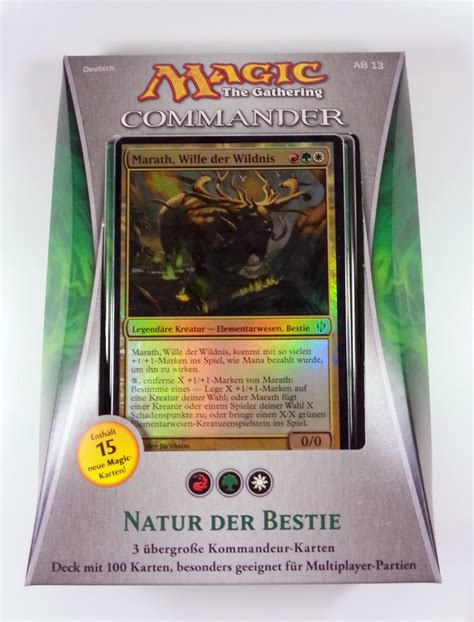 magic the gathering sle decks 2013 commander 2013 mehrspieler deck w 228 hlt aus