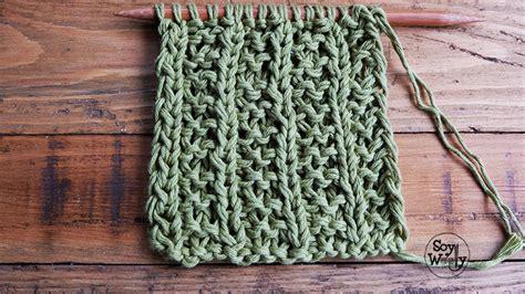 tejido en dos agujas 21 como tejer punto buho tejido en dos agujas 24 punto cruzado 1x2