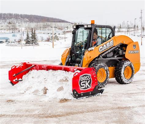 boss sk skid steer box plow