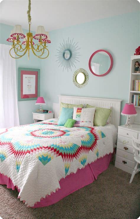 Colorful Teen Girls Bedroom  Design Dazzle Lots Of