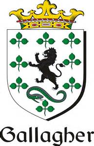 Gallagher Family Crest Irish