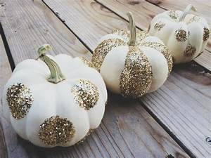Halloween Deko Außen : diy glitzer k rbis halloween deko selber machen k rbis ~ Jslefanu.com Haus und Dekorationen