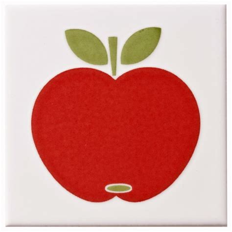 Apple Tile by Colours Apple Tile From B Q Kitchen Wall Tiles 10 Of