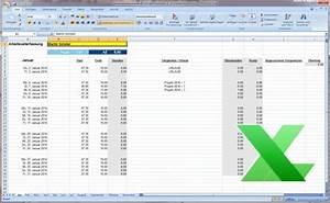Excel Stunden Berechnen Vorlage : arbeitszeiterfassung excel vorlage kostenlos download hier ~ Themetempest.com Abrechnung
