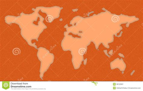 Pochoir Carte Du Monde by Pochoir De Carte Du Monde Image Stock Image 38122661