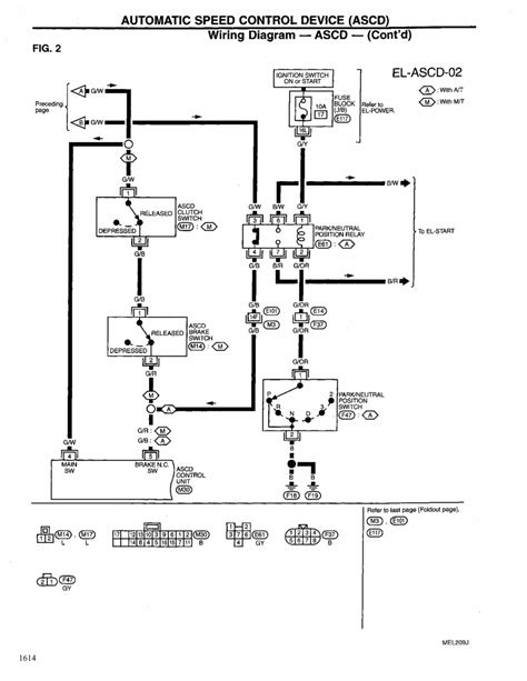 1999 Nissan Maxima Wiring Diagram by Repair Guides Electrical System 1999 Automatic
