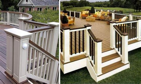 deck ideas on painted decks stained decks and