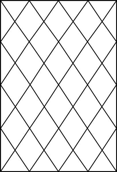 diamond tudor window pattern decorative window film