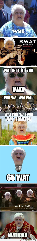 Wat Meme - wat meme on pinterest comment memes scrubs tv shows and italian girl problems