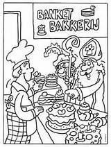 Sinterklaas Kleurplaten Kleurplaat Banketbakkerij Voor Coloring Bakker Hema Sint Knutselen Tekening Kinderen Tekeningen Kerstmis Kleuren Bakkerij Piet Dutch Spelen Zwarte sketch template