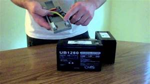 Apc Rbc32 Battery Assembly Video