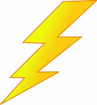 Lightning Bolt Clip Clipart Vector Template Strike