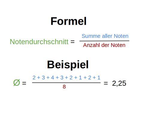 notendurchschnitt berechnen punkte bachelornote berechnen