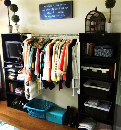 Solutions Closet Organizer by Best 25 No Closet Solutions Ideas On No