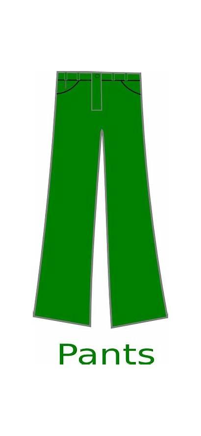 Pants Clipart Jeans Clip Pant Cliparts Boys