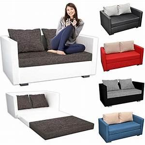 Couch Mit Großer Liegefläche : vcm 2er schlafsofa sofabett couch sofa mit schlaffunktion material und farbwahl m bel24 ~ Bigdaddyawards.com Haus und Dekorationen