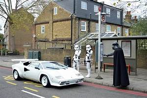 A 1984 Lamborghini Countach 5000 S And One Of The Rarest Star Wars Posters Ever Produced Will