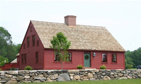 Cape Cod Colonial House New England Cape House Plans For
