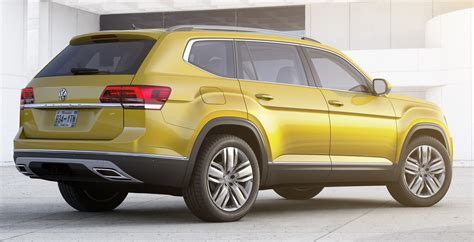 Seater Suv by Volkswagen Atlas Mqb Seven Seater Suv Debuts Paul