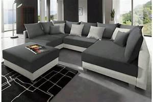 Große Sofas U Form : gro e wohnlandschaft u form inkl hocker polster sessel ~ Pilothousefishingboats.com Haus und Dekorationen