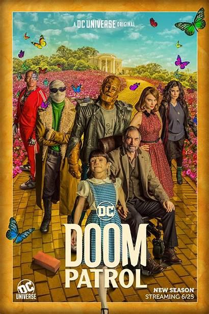 Doom Patrol Poster Season Hbo Max Team