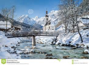 vacation house plans ramsau in winter berchtesgadener land bavaria germany