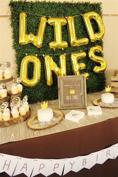 karas party ideas   wild   birthday