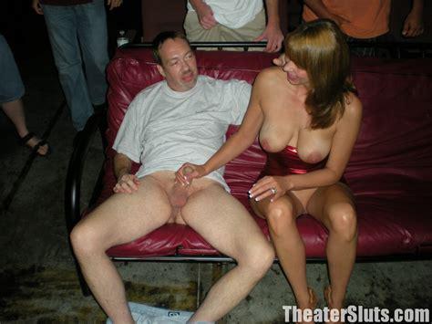 Slut Wife Karen Takes A Train Of Strangers Cocks In A