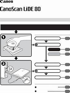 Canon Scanner Lide 80 User Guide