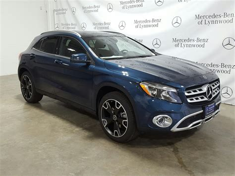 Not only does the gla250 4matic split torque front and rear, it also adds 1.2 inches more ground clearance, which mercedes' lists as 5.3 inches under max load. New 2020 Mercedes-Benz GLA GLA 250 4MATIC® SUV in Lynnwood #202169 | Mercedes-Benz of Lynnwood