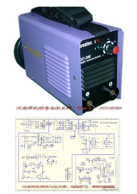 easyarc zx7 200 igbt inverter welder service manual schematics eeprom repair info