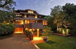 frank lloyd wright inspired house plans frank lloyd wright 39 s name used to sell houses he didn 39 t design curbed