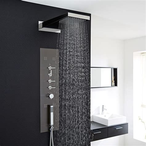 25 best ideas about shower panels on pinterest open showers walk in shower screens and